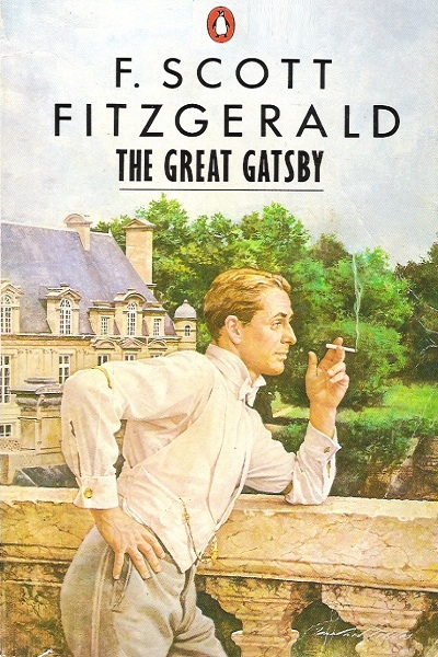 How does F. Scott Fitzgerald use figurative language in his novel The Great Gatsby?